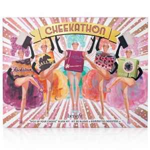 LIMITED EDITION BENEFIT CHEEKATHON BLUSH PALETTE